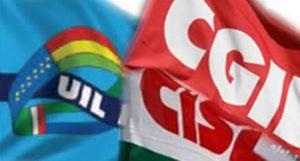LivornoPress sindacati cgil-cisl-uil bandiere