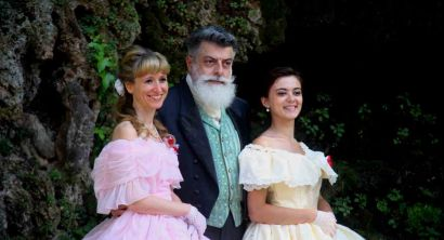 gran ballo risorgimentale in costume figuranti a villa Mimbelli (1)