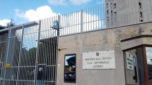 LivornoPress: carcere delle Sughere di Livorno, mura e camcello di ingresso