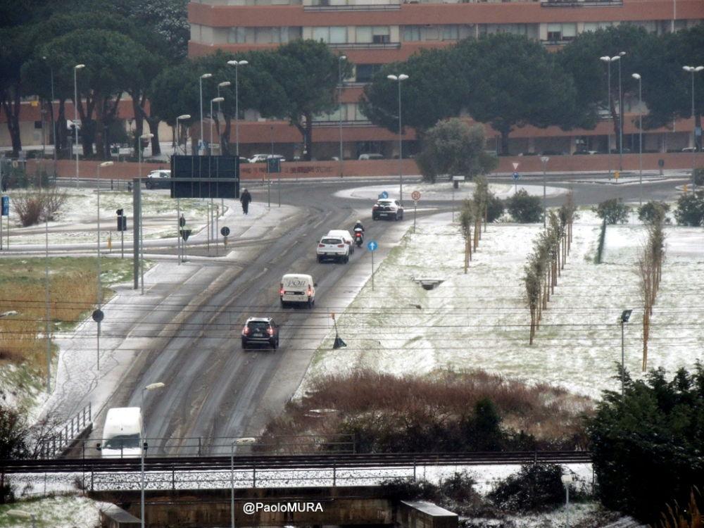 Neve la situazione delle strade provinciali e in citt for Ditte traslochi livorno