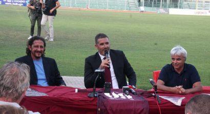 lucarelli presentazione allenatore ai tifosi livorno calcio (5)