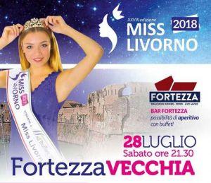 Miss Livorno 2018 in Fortezza Vecchia
