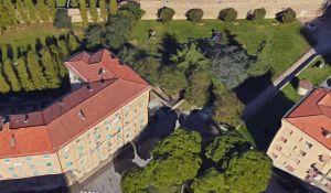 La polizia ferma spacciatore nel parco in via Giordano Bruno