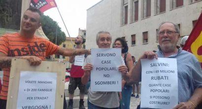 Asia Usb Per un nuovo piano di edilizia popolare e contro gli sgomberi della circolare Salvini (4)