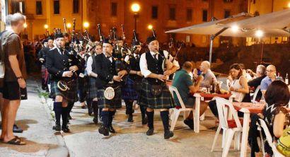 Le cornamuse scozzesi incantano la Venezia (4)