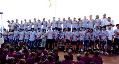 Rugby I Lions Amaranto Livorno si presentano ai bagni Lido (2)