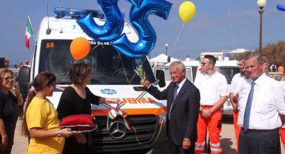 Giornata del dono. Svs: inaugurata la nuova ambulanza
