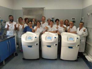 Polo endoscopico 4 nuove apparecchiature istallate, reparto all'avanguardia