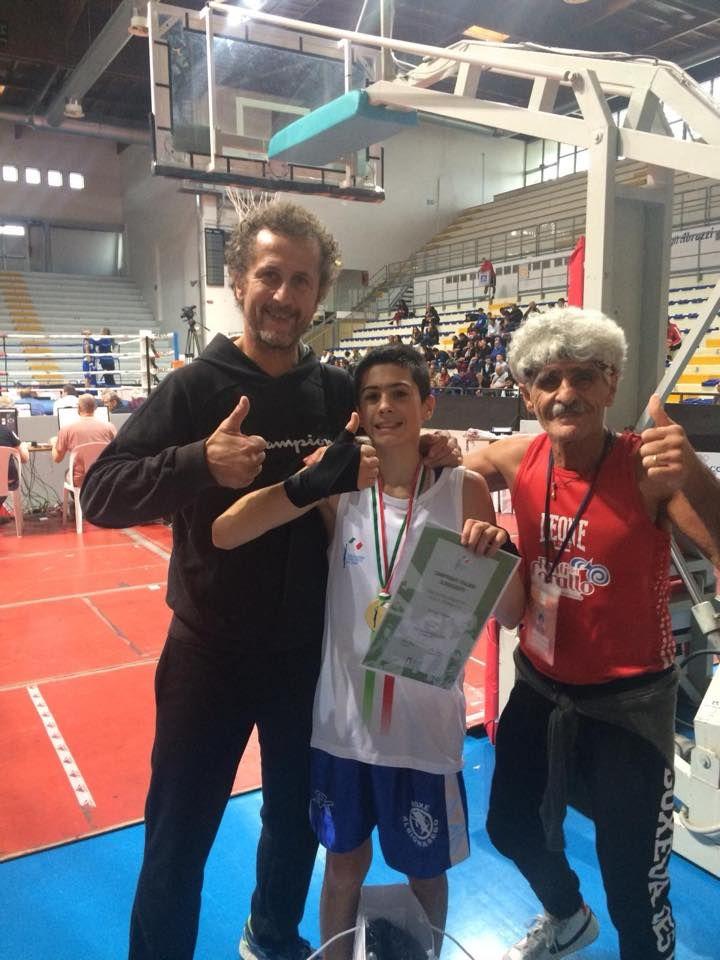 Samuele Esposito nuovo campione italiano di Schoolboys