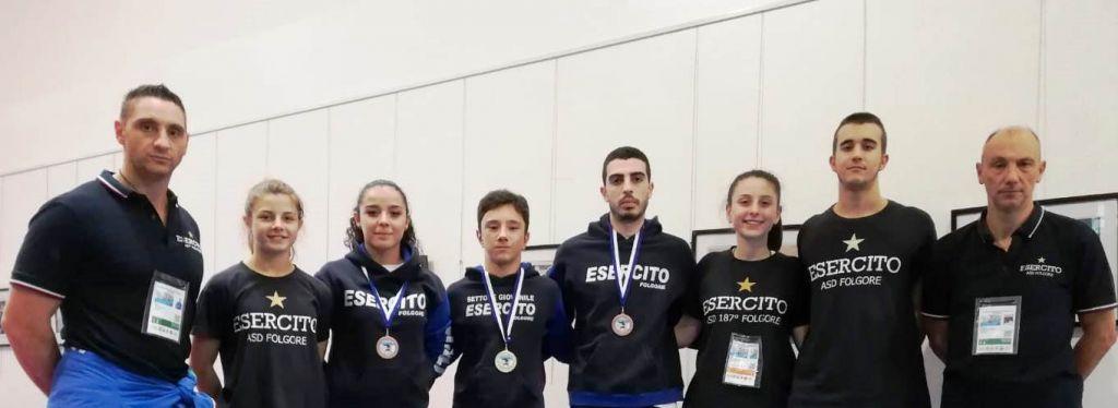 Karate tre ori e tre bronzi agli Open di San Marino