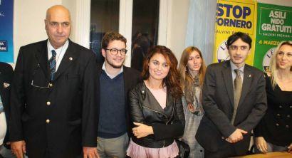Livorno, inaugurazione sede Lega Nord con Susanna Ceccardi (28)