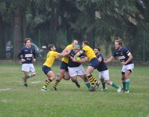 Rugby di B Livorno vince anche su campo del Reno Bologna