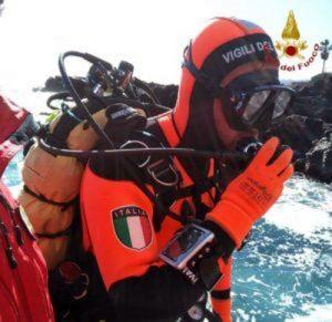 vigili del fuoco 115 sommozzatore
