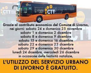 autobus gratis natale 2018