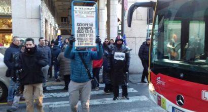 sciopero lavoratori aamps (33)
