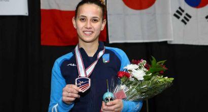 Irene Vecchi terzo posto Salt Lake City2019