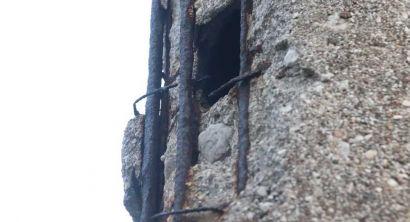 Il palo dimenticato, ma è pericoloso Cascherà (5)