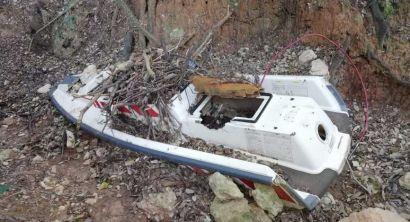 Operazione Panoramica puliAMOntenero trovata barca, televisori, macerie, amianto e altro ancora