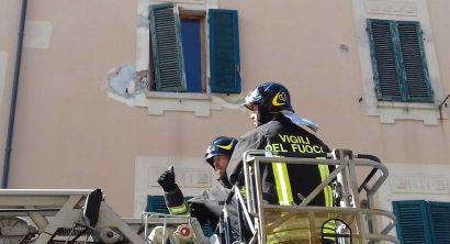 Allerta meteo, alcuni interventi dei vigili del fuoco (17)