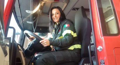 Eleonora Ricci, la prima donna operativa del comando dei vigili del fuoco di Livorno (4)