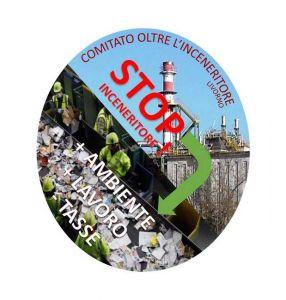Logo comitato stop inceneritore