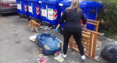 Shangai, blocco della direzione, protesta per la spazzatura (2)