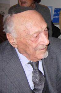 LivornoPress Rabbino Elio Toaff