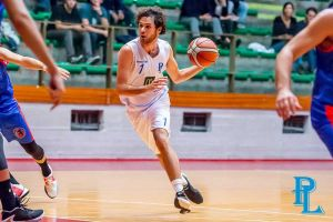 Basket c gold, Pielle - Amen Arezzo filippo creatini in azione