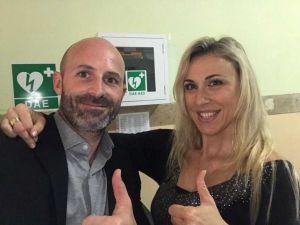 Costanza Vaccaro e Gianluca Di Liberti (Lega)