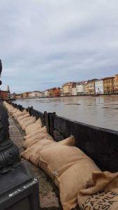 LivornoPress Arno piena Pisa