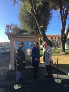 LivornoPress asa fontanella alta qualità piazza del Luogo Pio taglio nastro