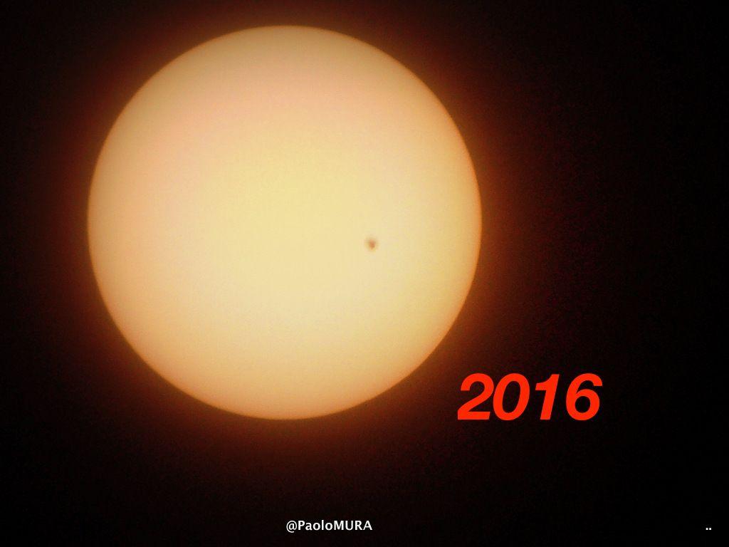 LivornoPress il transito di mercurio sul sole foto Paolo Mura nel 2016