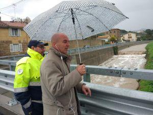 LivornoPress salvetti protezione civile fime esondazione controllo