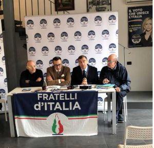 Livornopress fratelli d'italia presentazione raccolta firme