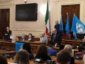 Presidente Unicef Italia Samengo al Consiglio Comunale Di Livorno