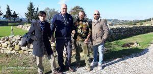 Rosignano Lega sopralluogo azienda agricola attaccata lupi