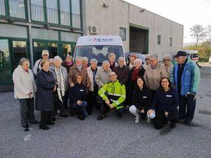SVS inaugura un furgone per il trasporto di persone disabili