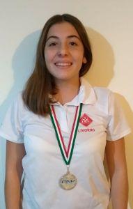 Elisabetta Burattini TDS Livorno nuoto 19-20