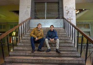 Simone Bacci e Filippo Girardi dei Giovani Democratici (PD)