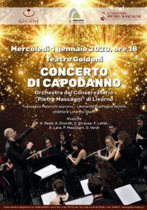 concerto di capodanno 2020 al Goldoni