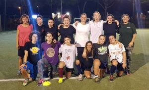 la squadra femminile Lions