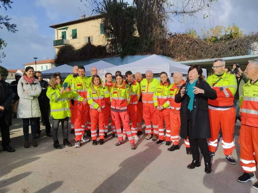 svs ardenza inaugurazione ambulanza
