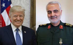 Donald John Trump e il generale iraniano Qassem Soleimani