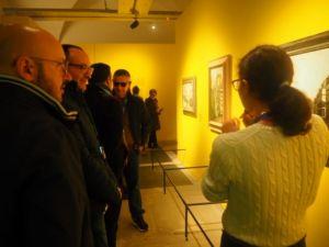 detenuti delle Sughere visitano la mostra di Modigliani
