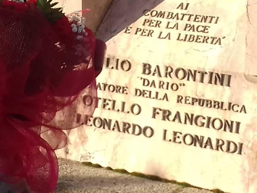 Lenny Bottai e Pc commemorazione
