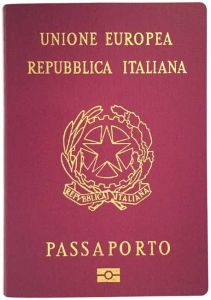 Passaporto italiano