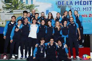 Team_Italia_gioia_campionati_del_mediterraneo_2020_scherma_sport
