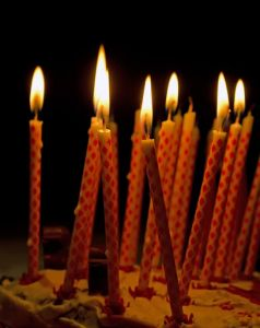 candele torta