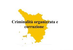 toscana rapporto mafia