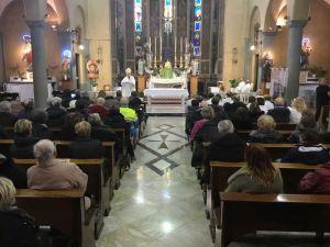 Giornata del malato, il vescovo Giusti ringrazia gli operatori dell'ospedale